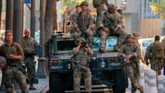 FBI informa que robaron un Humvee de la Guardia Nacional en California