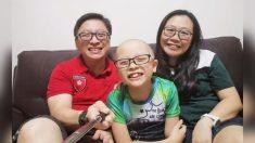 """Padres de niño que murió de un extraño cáncer dicen: """"El tiempo que pasamos juntos fue lo más valioso"""""""