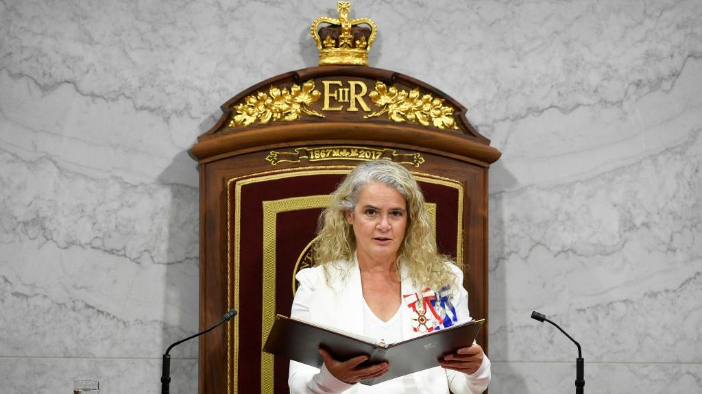 Gobernadora general de Canadá dimite después de un controvertido mandato