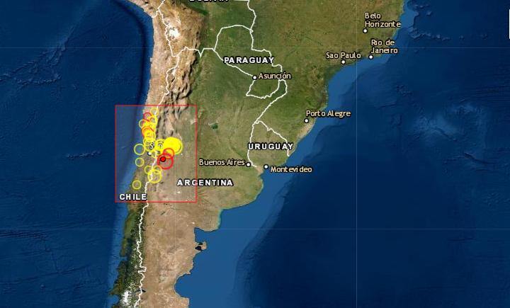 Dos fuertes seísmos muy seguidos sacuden Antártida y la zona central de Chile