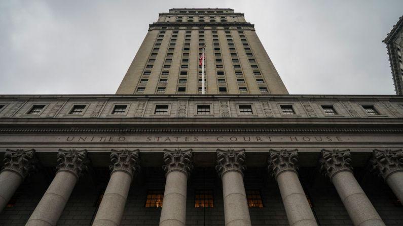 El Palacio de Justicia de Estados Unidos Thurgood Marshall, el cual atiende casos de la Corte de Distrito de Estados Unidos para el Distrito Sur de Nueva York y la Corte de Apelaciones de Estados Unidos para el Segundo Circuito, se encuentra en el Bajo Manhattan, el 18 de enero de 2019, en la ciudad de Nueva York. (Foto de Drew Angerer/Getty Images)