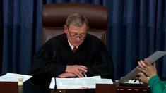 Negativa de presidente de Corte Suprema de dirigir impeachment de Trump genera dudas constitucionales