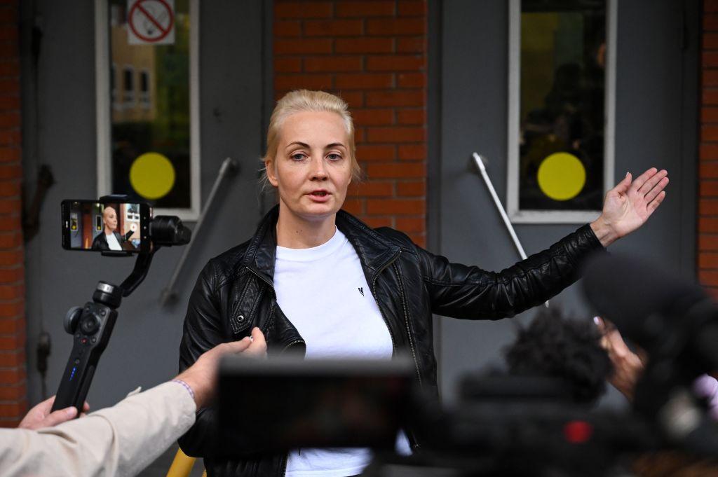Detienen a la esposa del líder opositor ruso Alexéi Navalni