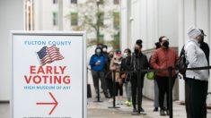 Los votantes acuden a las urnas para las elecciones al Senado de Georgia