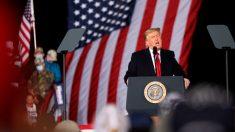 """""""No me doy por vencido"""", dice Trump en mitin en Georgia"""