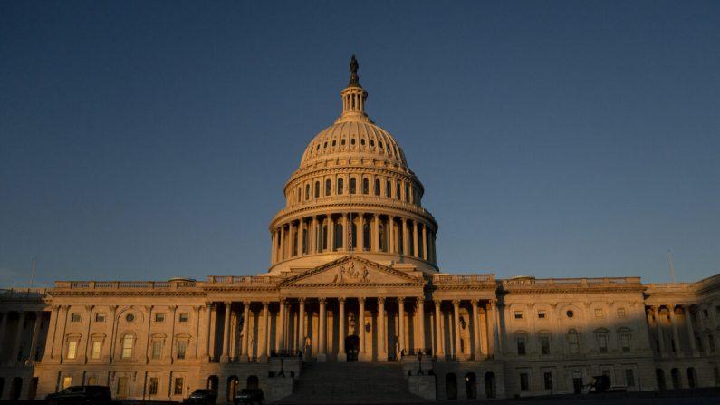 Capitolio de Estados Unidos, en Washington, D.C. el 13 de enero de 2021. (Stefani Reynolds/Getty Images)