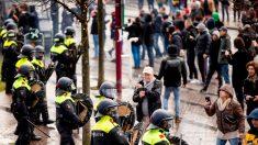Detienen a al menos 184 en la tercera noche de disturbios en Países Bajos