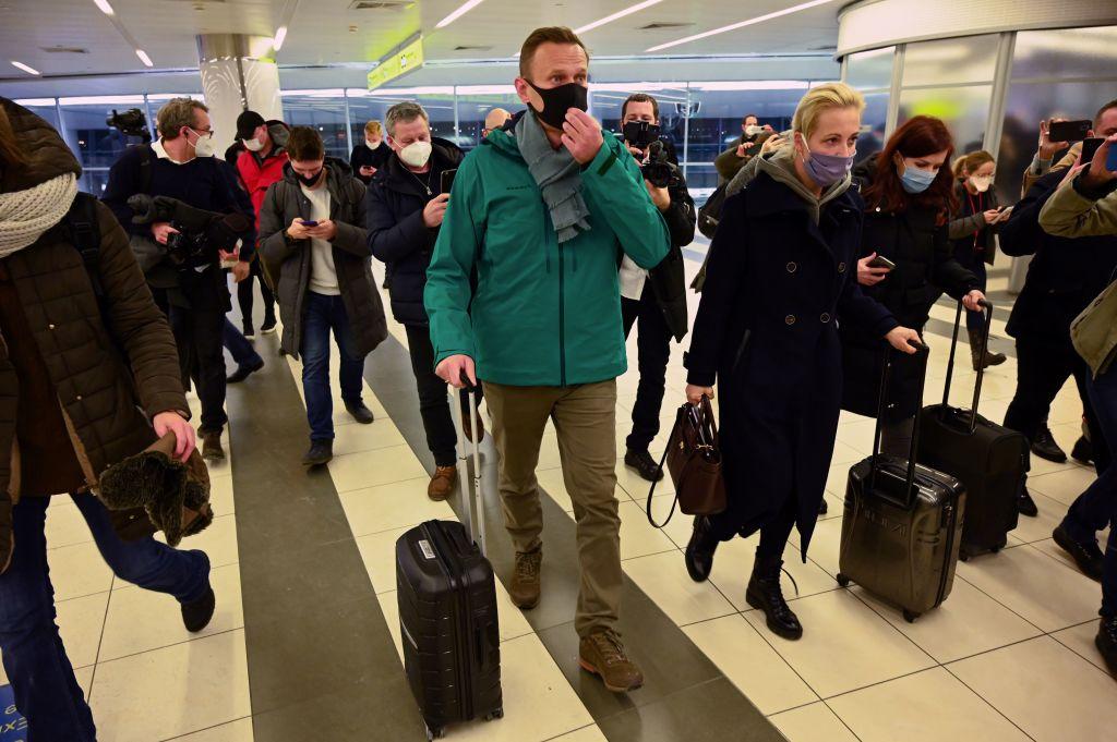 Comunidad internacional condena el arresto de Navalni y exige a Rusia su inmediata liberación