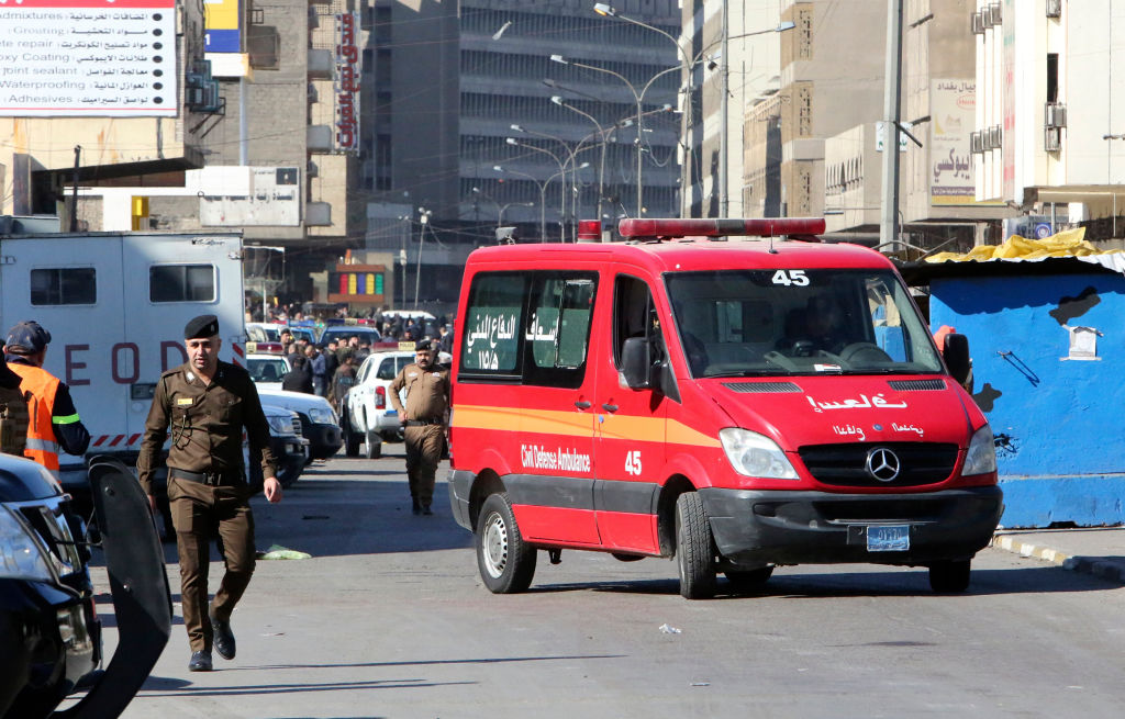 Al menos 32 muertos en un doble ataque suicida en el centro de Bagdad