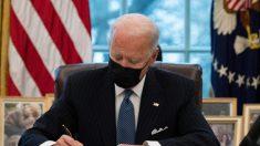 Biden establece un récord de órdenes ejecutivas en los primeros 6 días en el cargo