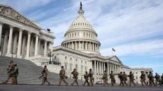 Washington tiene una fuerte presencia militar antes de la inauguración de Biden