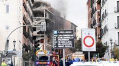 La Policía atribuye la explosión en Madrid a una fuga de gas en el exterior