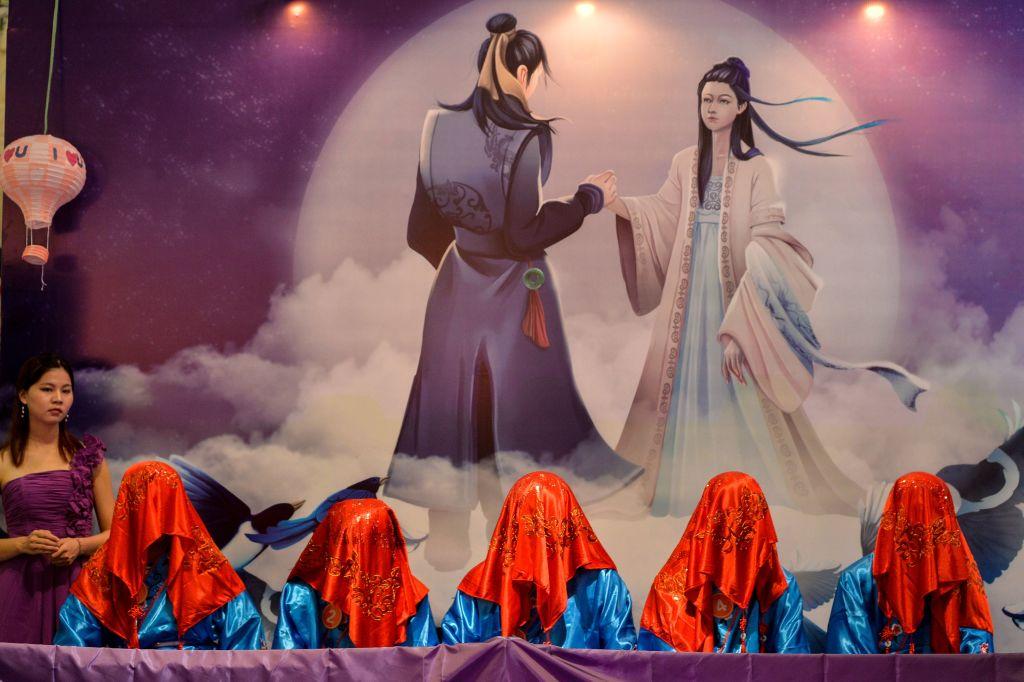 Buenas historias de China: historia de amor de Niu Lang y la doncella tejedora celestial
