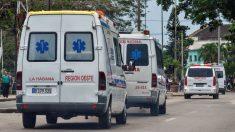 Diez muertos y 25 heridos al caer un autobús por un puente en oeste de Cuba