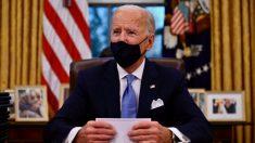 """Biden sugiere que restricciones por pandemia durarán hasta """"principios de otoño"""", no serán """"2 meses"""""""