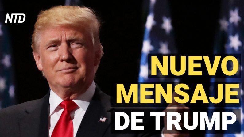 Trump envía un nuevo mensaje y la Cámara aprueba un segundo impeachment contra el presidente. (NTD Noticias/NTD en Español)