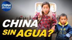China en Foco: China se queda sin agua y paga las consecuencias de sus políticas. Helado da positivo para el virus