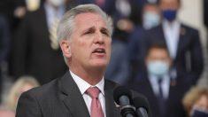 """""""Todos en este país"""" tienen responsabilidad en el ataque al Capitolio: McCarthy"""
