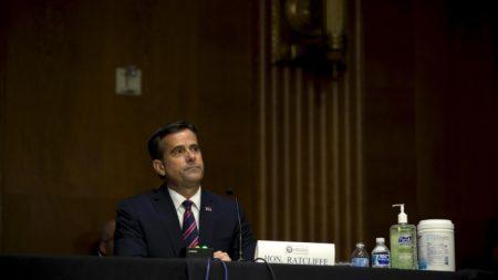 """China """"trató de influir"""" en elecciones de EE. UU. en 2020, según director de Inteligencia Nacional"""