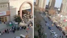 Autoridades chinas reubican a 20,000 personas para someterlas a cuarentena
