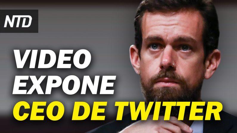 Filtran video de CEO de Twitter antes de bloquear a Trump; 4 acusados por asalto al Capitolio. (NTD Noticias/NTD en Español)