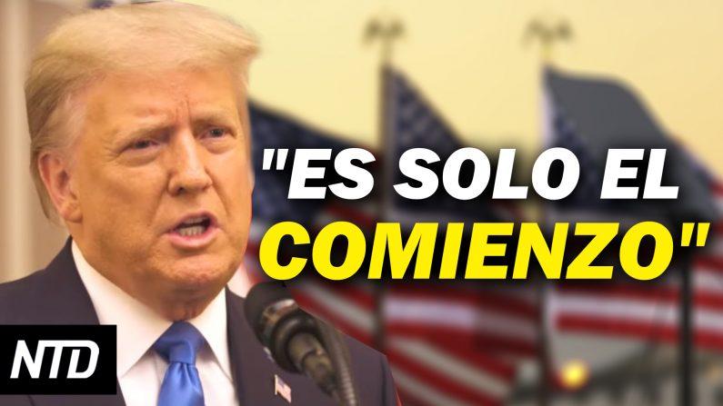 Trump se despide de la nación; Nominados de Biden hablan de amenazas a EE. UU. (NTD Noticias/NTD en Español)