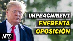 NTD Noticias: Senadores republicanos se oponen al impeachment; Nuevas políticas de Biden para aerolíneas
