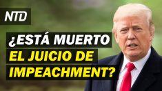NTD Noticias: 45 senadores votan contra enjuiciar a Trump; Juez bloquea suspensión de deportaciones de Biden