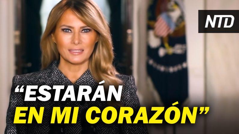 Administración Trump: logros contra el PCCh; Melania Trump envía mensaje de despedida. (NTD Noticias/NTD en Español)