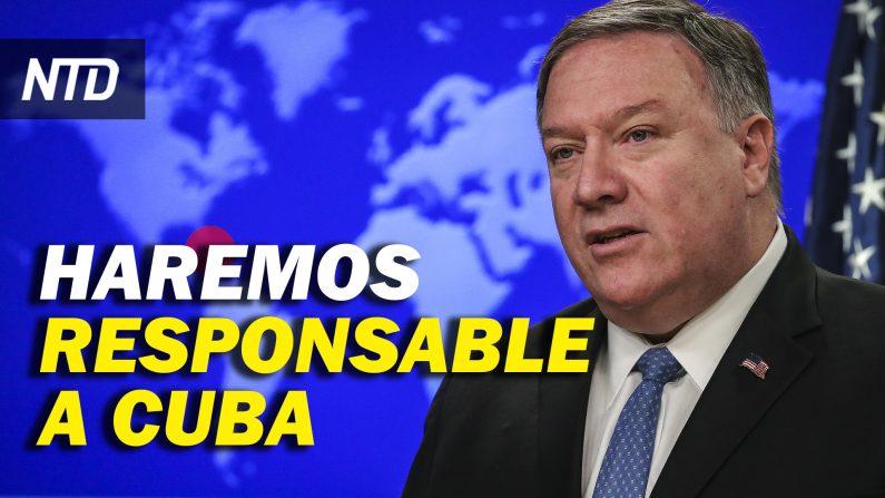 Demócratas presentan plan para impeachment; Cuba declarada país patrocinador de terrorismo. (NTD Noticias/NTD en Español)