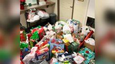 Niño de 3 años abandonado por su mamá días antes de Navidad, es inundado de regalos en hogar de acogida
