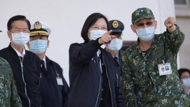 Presidenta Tsai confirma por primera vez presencia de tropas estadounidenses en suelo taiwanés