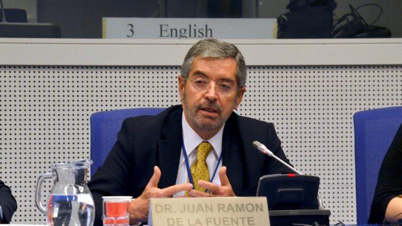 En la imagen, el embajador mexicano ante la ONU, Juan Ramón de la Fuente. EFE/Luis Lidón/Archivo