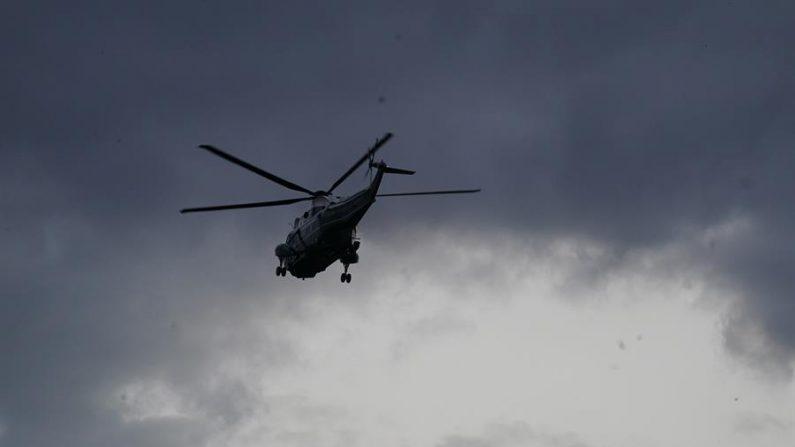 Tres soldados de la Guardia Nacional fallecieron en un accidente de helicóptero durante unas maniobras al norte del estado de Nueva York la noche del miércoles, 20 de enero de 2021. EFE/EPA/Chris Kleponis / Archivo