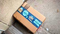 Karma instantáneo: mujer deja paquete falso con arena para gatos usada para ladrón de envíos