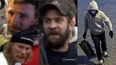 FBI publica fotos de sospechosos que golpearon a un oficial e instalaron bombas de tubo el 6 de enero