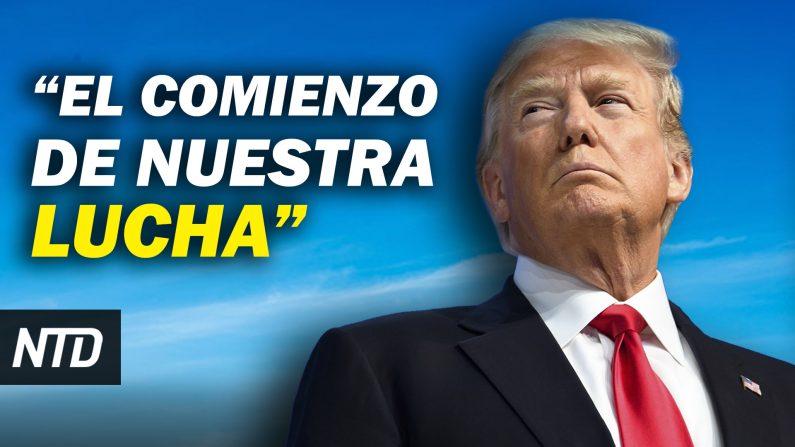 Trump prometió seguir luchando; Al menos 4 muertos y 52 arrestos en disturbios del Capitolio. (NTD Noticias/NTD en Español)