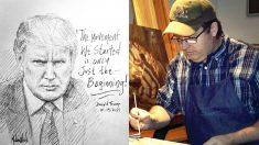 """""""Solo el comienzo"""": artista que pinta a Trump, Jon McNaughton, comparte mensaje de esperanza"""