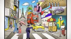 ¿Puede encontrar 6 errores ingeniosamente ocultos en este paisaje urbano? ¡Pruebe su agudeza visual!