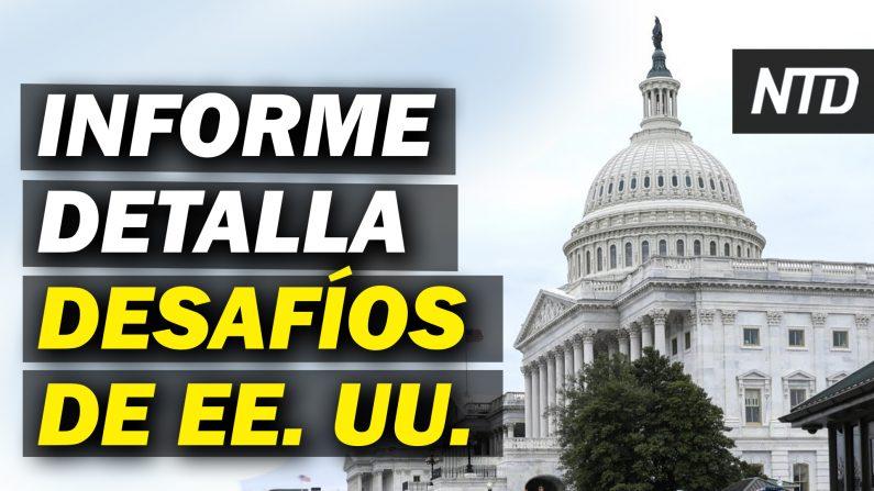 Comisión de 1776 detalla los desafíos de EE. U.U.; Senado escucha nominados de Biden. (NTD Noticias/NTD en Español)