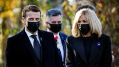 Esposa del presidente de Francia dio positivo por covid-19 en Nochebuena