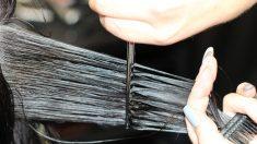 Adolescente mexicana vende su largo cabello para pagar el tanque de oxígeno de su abuelo con COVID-19