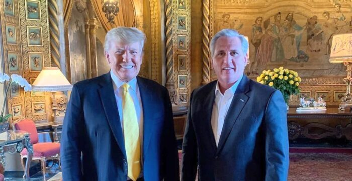 McCarthy Responds to Speculation Trump Should Be Elected Speaker of the House |  Kevin McCarthy |  Donald Trump |  President