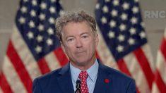 """Muchos dejarán el Partido si senadores del GOP """"siguen adelante"""" con condenar a Trump: Rand Paul"""