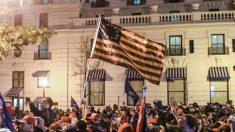 Habilitan a la Guardia Nacional para que ayude a la policía durante las protestas a favor de Trump
