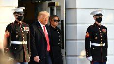 Estrenan biblioteca presidencial oficial de Trump online, destaca sus impeachments