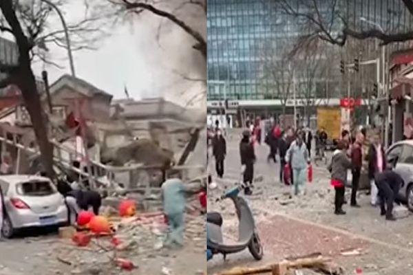 Se produce una explosión en un restaurante cercano a la sede del gobierno en Beijing