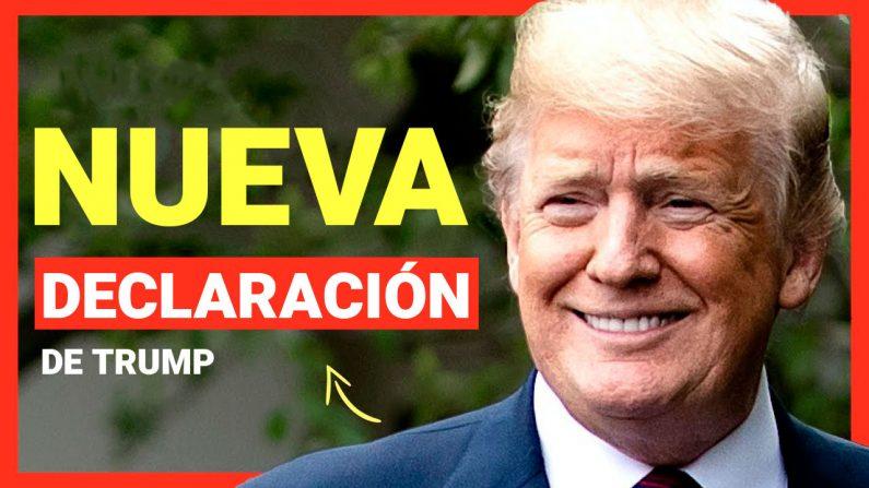 Trump: Declaración oficial, planes futuros y su reacción sobre el juicio político. (Al Descubierto/The Epoch Times en Español)