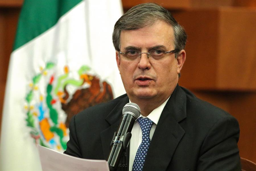 Canciller mexicano y secretario de Seguridad de EE.UU. hablan sobre migración