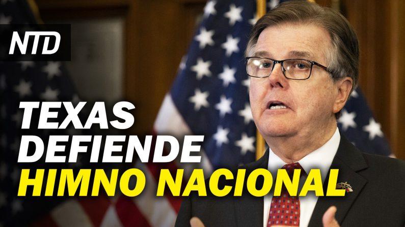 Cruz: Todos los senadores son culpables de convocar a la lucha; Tx defiende el Himno Nacional (NTD Noticias/NTD en Español)